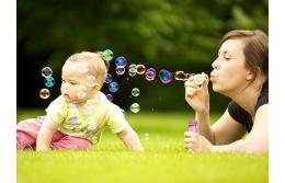 Фотосессия мамы с ребенком - отличный вариант чтобы разнообразить досуг